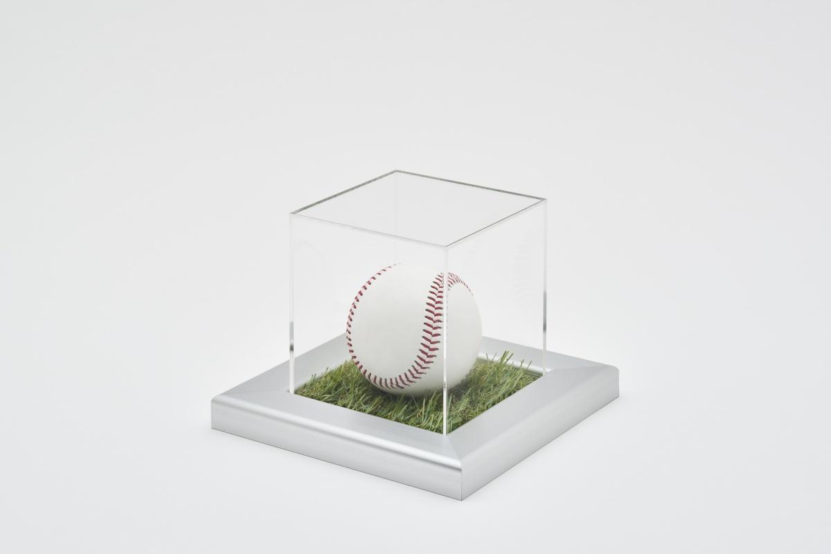 人工芝ケース 野球ボールケース 使用例