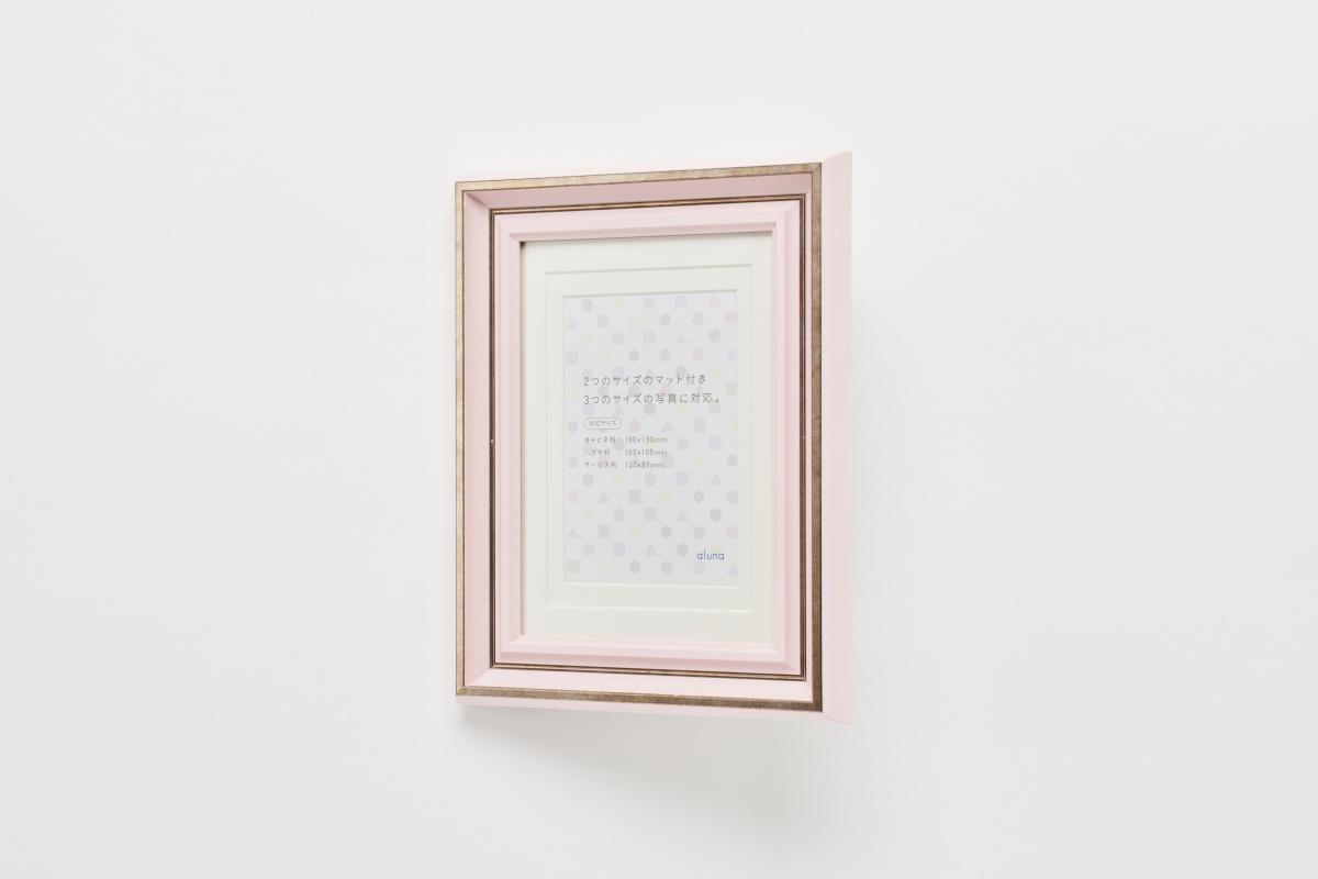 ピンク 斜め写真
